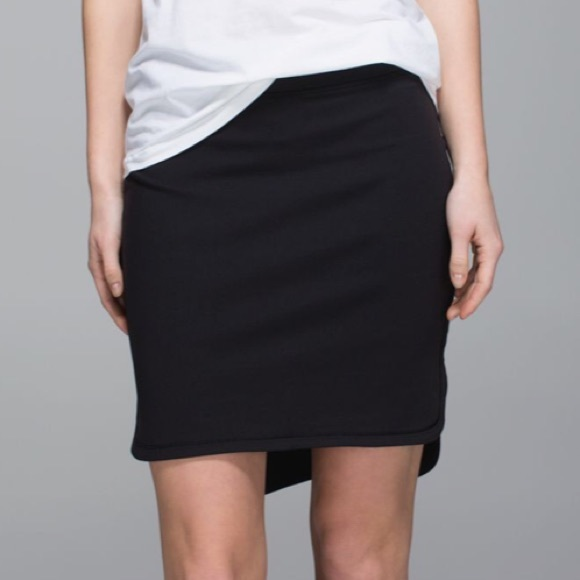 lululemon athletica Dresses & Skirts - Lululemon City Skirt Black